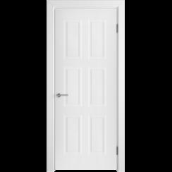 Межкомнатная дверь эмаль классика фреза «Челси 08» (глухая)