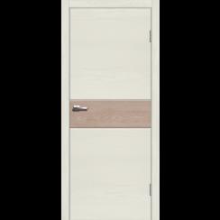 """Межкомнатная дверь экошпон """"Даллас 1 Лиственница натуральная"""""""