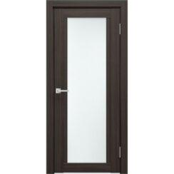 Межкомнатная дверь экошпон K-11 стекло сатинато
