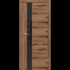 """Межкомнатная дверь экошпон """"Лестер 2 Американский орех"""""""
