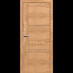 "Межкомнатная дверь экошпон ""Лестер 1 Дуб шале натуральный"""