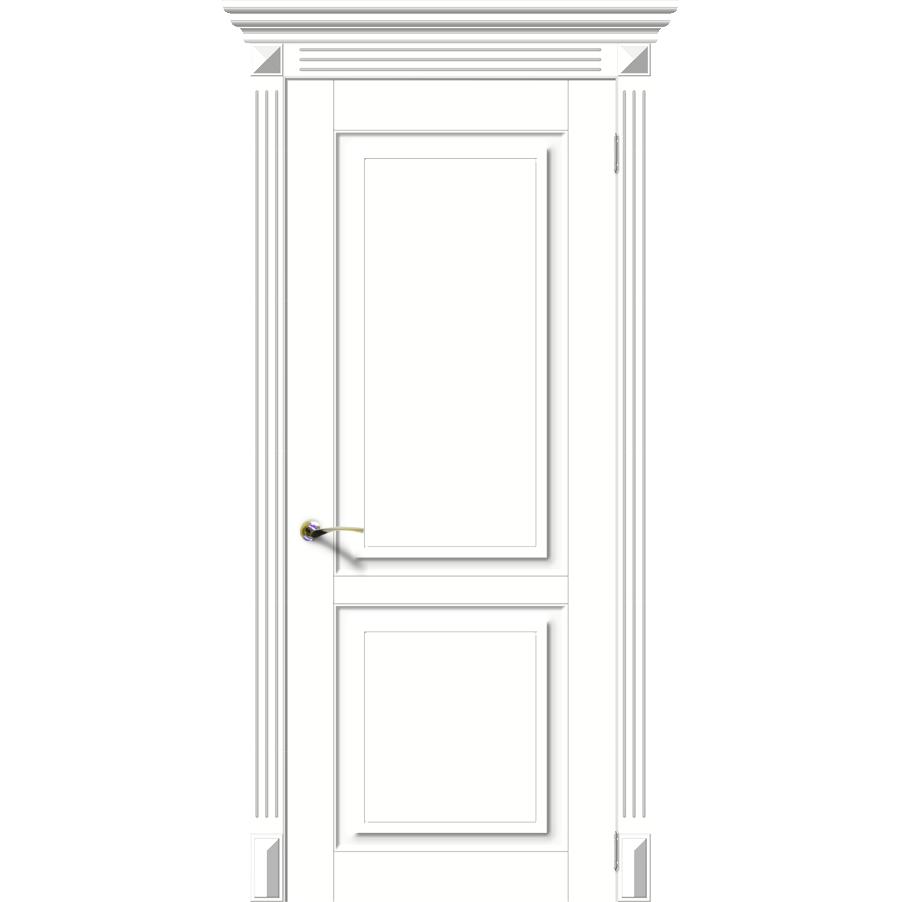 Межкомнатная дверь эмаль классика фреза «Лира-Н» (глухая)