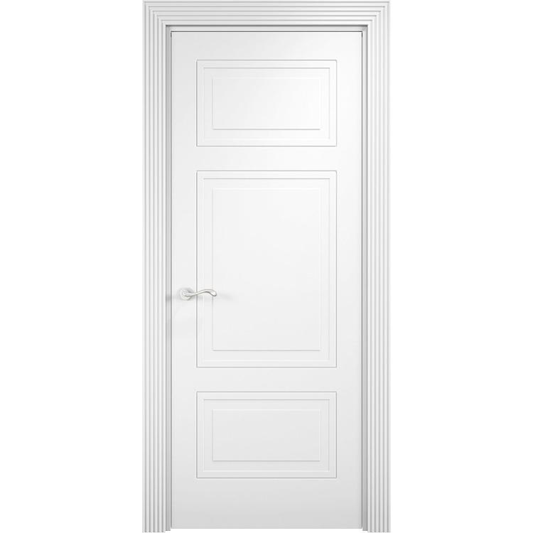 Межкомнатная дверь эмалит классика «Париж 05» (глухая)