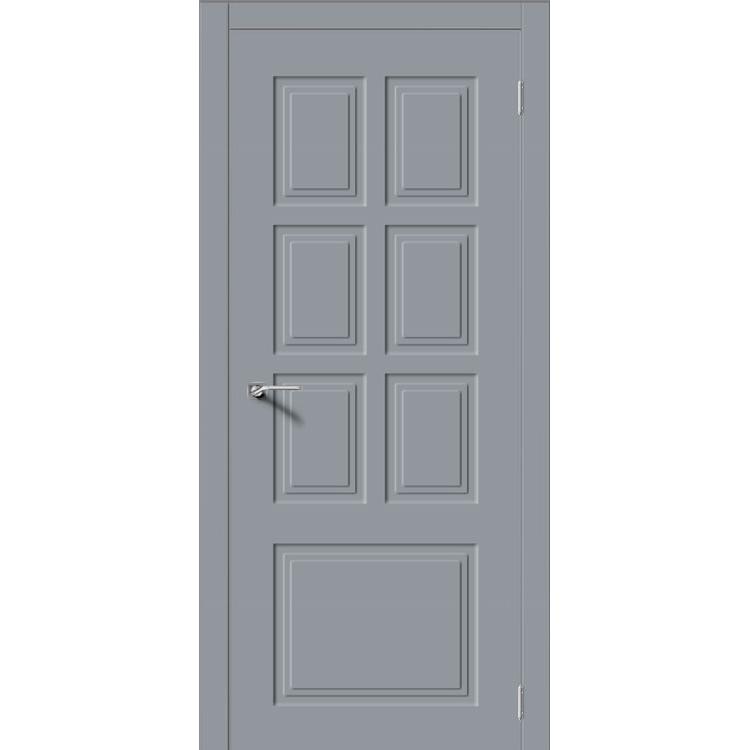 Межкомнатная дверь эмаль неоклассика «Квадро-1» (глухая)