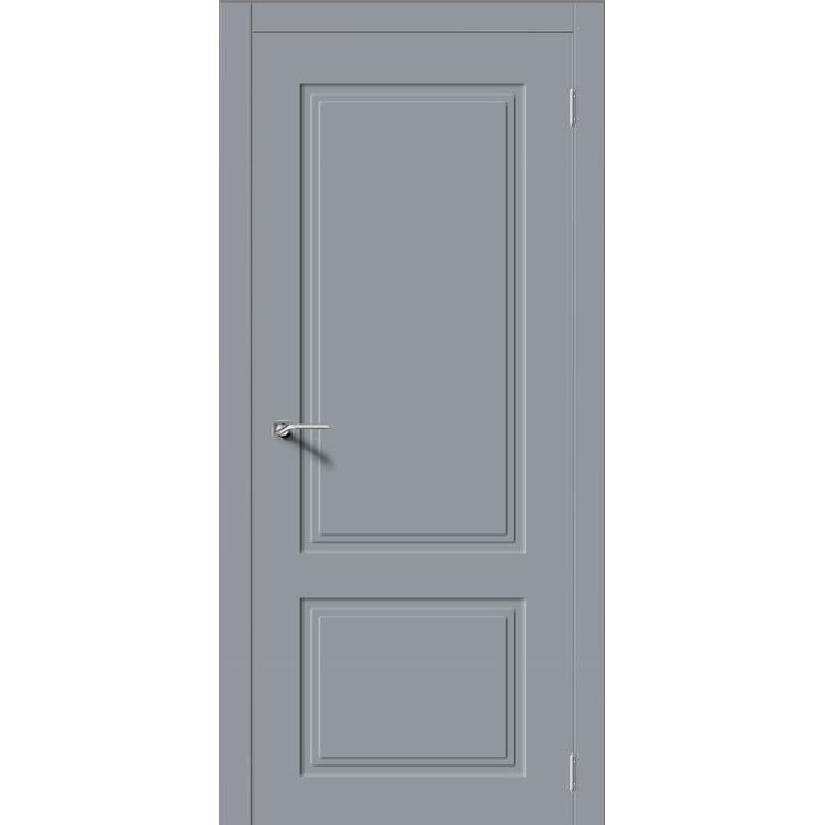 Межкомнатная дверь эмаль неоклассика «Квадро-2» (глухая)
