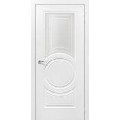 Межкомнатная дверь эмаль классика «Роял 4» (со стеклом)