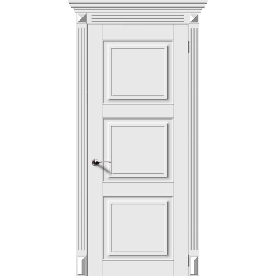 Межкомнатная дверь эмаль классика фреза «Симфония-Н» (глухая)