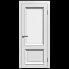 Межкомнатная дверь эмаль классика премиум «Стелла 2» (со стеклом)