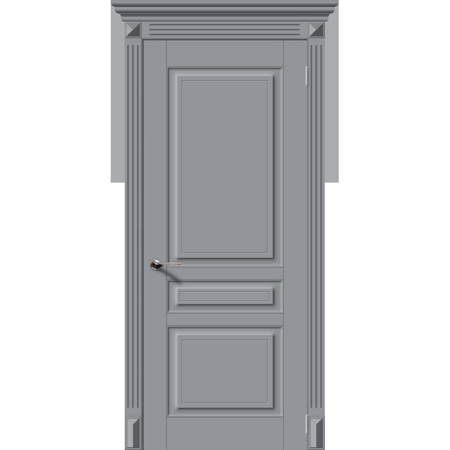 Межкомнатная дверь эмаль классика фреза «Версаль-Н» (глухая)