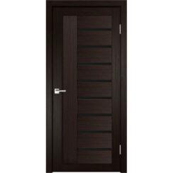 Межкомнатная дверь экошпон Y-5 лакобель чёрное
