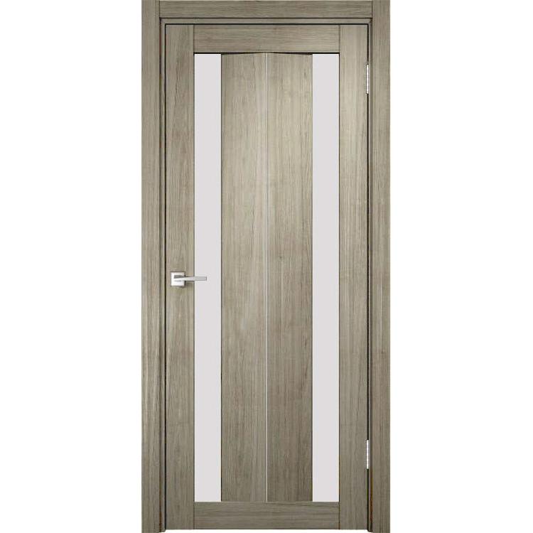 Межкомнатная дверь экошпон Y-6 стекло сатинато