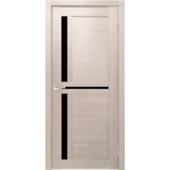 Межкомнатная дверь экошпон Z-1 лакобель чёрное