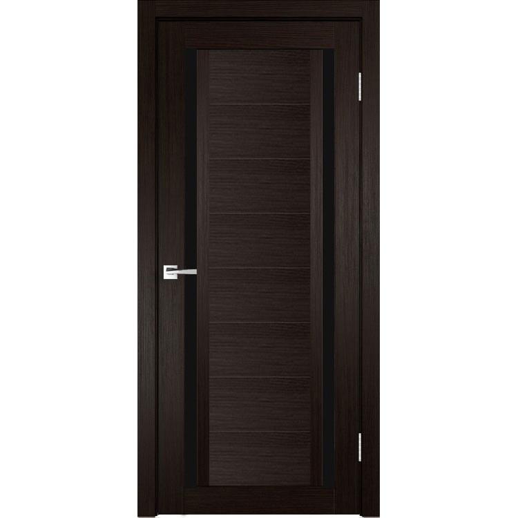 Межкомнатная дверь экошпон Z-3 лакобель чёрное