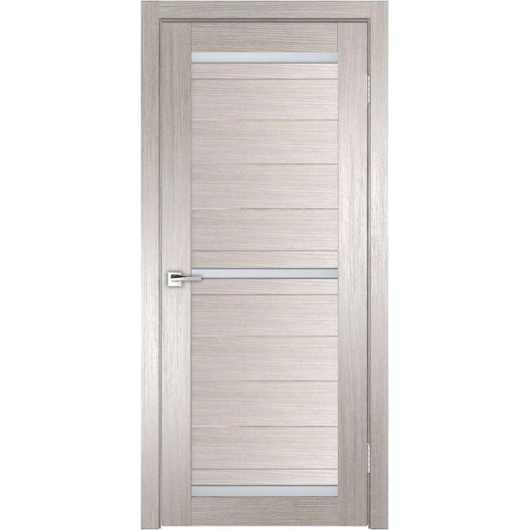 Межкомнатная дверь экошпон Z-4 стекло сатинато