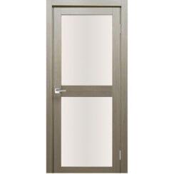 Межкомнатная дверь экошпон Z-6 стекло сатинато