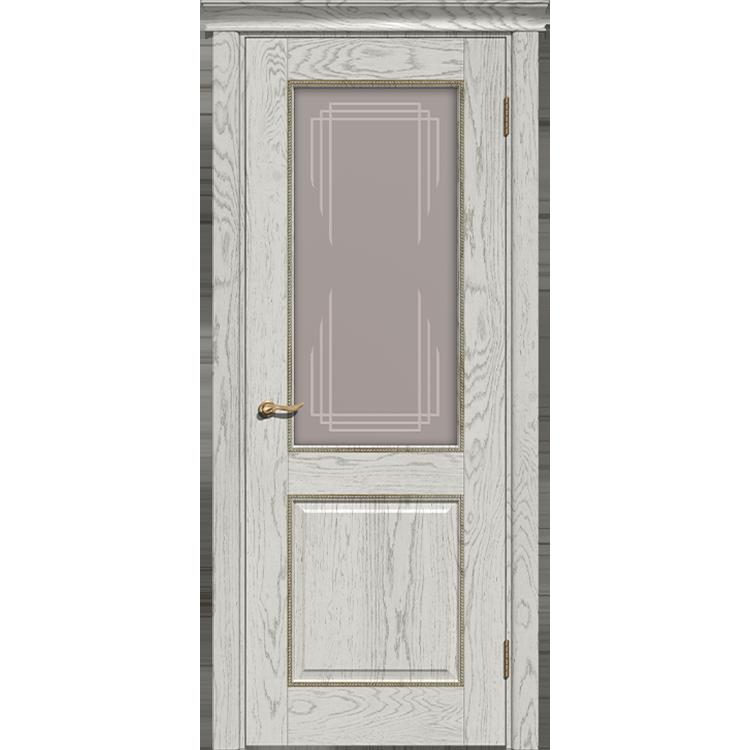 Межкомнатная дверь «Прайм» натуральный шпон (со стеклом)