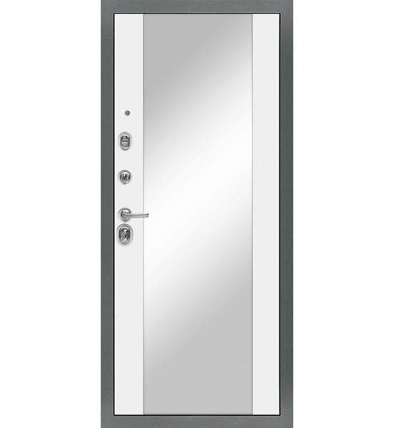 Входная металлическая дверь «МД-91» (белый софт)