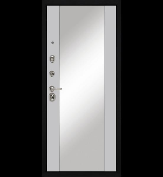 Входная металлическая дверь «МД-90» (белый софт)