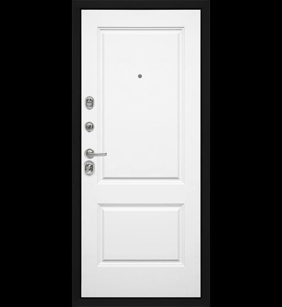 Входная металлическая дверь «МД-40» (белый софт)