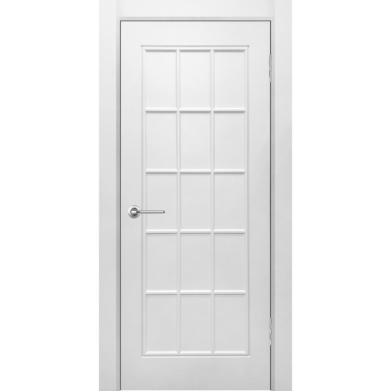 Межкомнатная дверь эмаль классика фреза «Британия 1» (глухая)