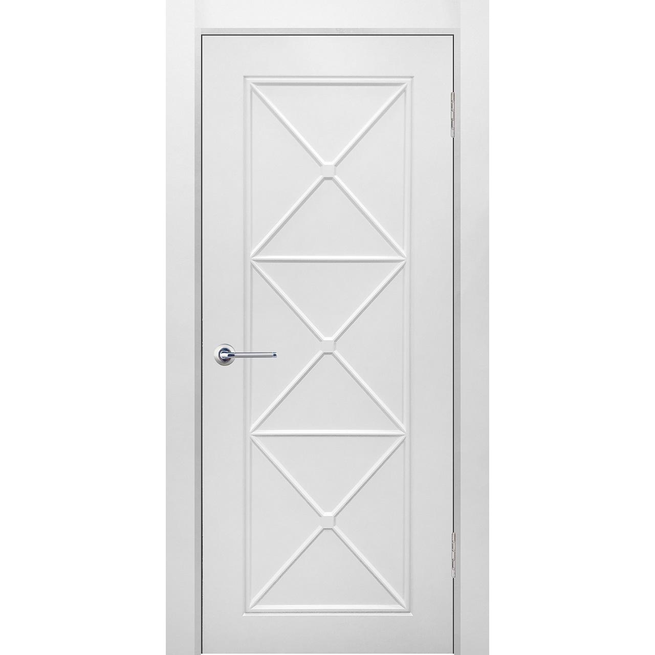 Межкомнатная дверь эмаль классика фреза «Британия 2» (глухая)