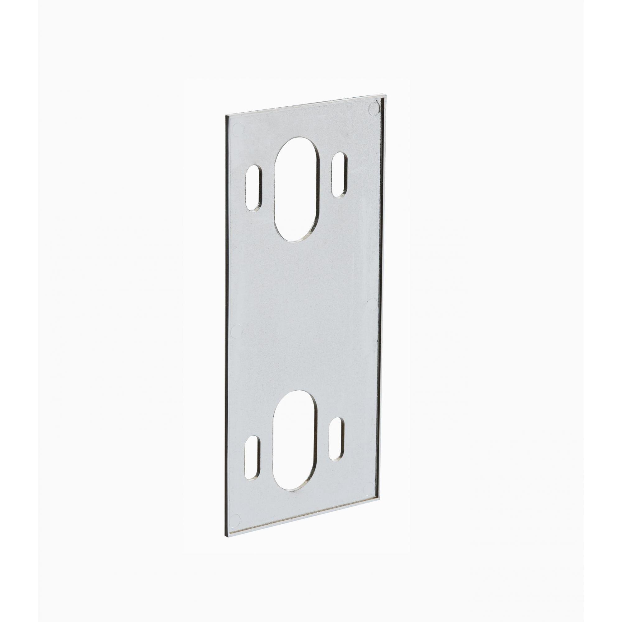 Защёлка магнитная для стеклянных дверей с корпусом