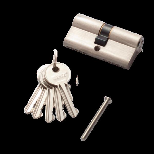 Личинка для замка RENZ английский ключ/ключ 60мм