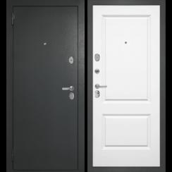 Входная металлическая дверь «DIVA-510» (белый матовый)