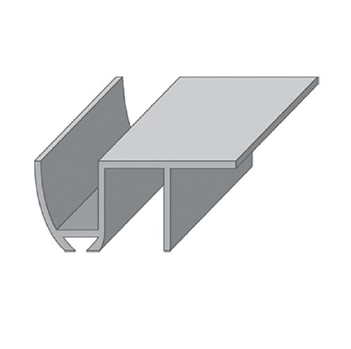 "Направляющая нижняя ""INN 1"" для раздвижных дверей (длина 1 метр)"