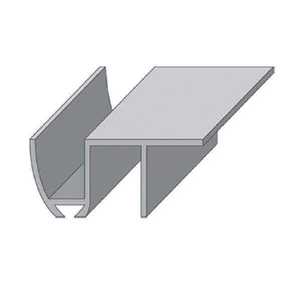 "Направляющая нижняя ""INN 2"" для раздвижных дверей (длина 2 метра)"