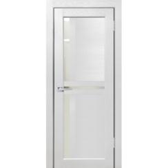 """Межкомнатная дверь экошпон """"Матрикс М-19"""" (стекло сатинато)"""