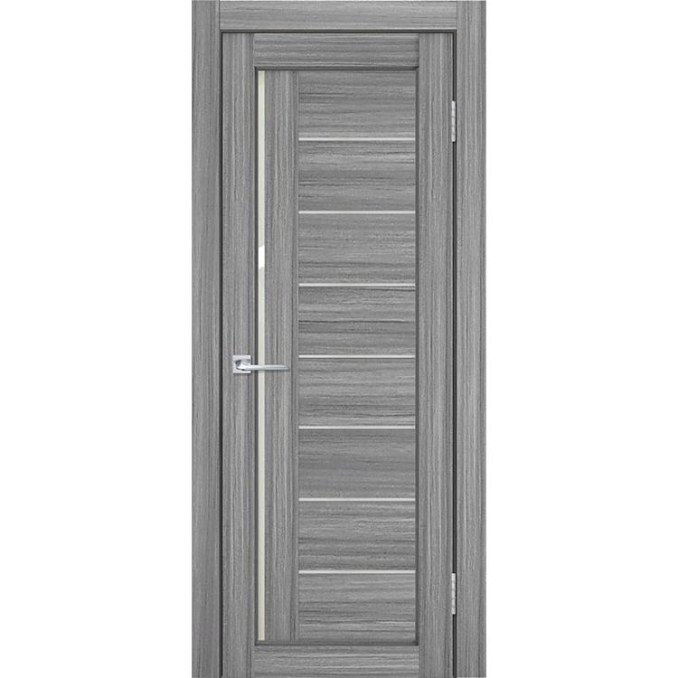 """Межкомнатная дверь экошпон """"Матрикс М-41"""" (стекло сатинато)"""