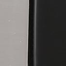 Никель матовый/чёрное стекло