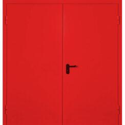Металлическая противопожарная дверь RAL индивидуальный 60 минут ДПМ-30-02