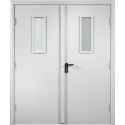 Двупольный дверной блок противопожарный ламинированный EI 30 минут
