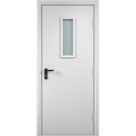 Дверь противопожарная ДПО ПВХ 60 мин.