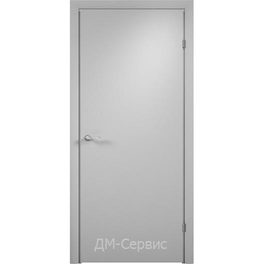 Строительный дверной блок с четвертью ДПГ гладкий ламинированный