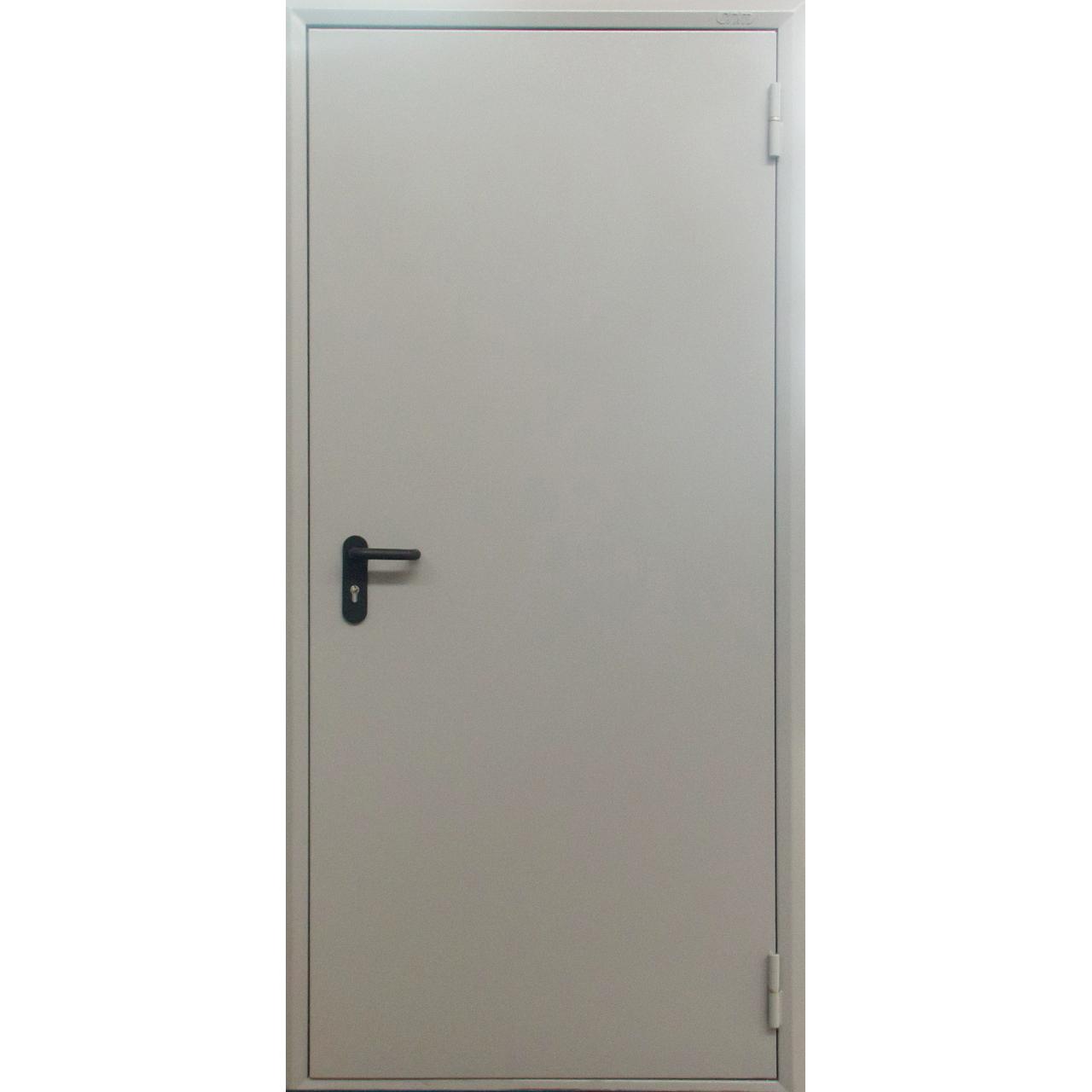 Металлическая противопожарная дверь 60 минут ДПМ-60-01