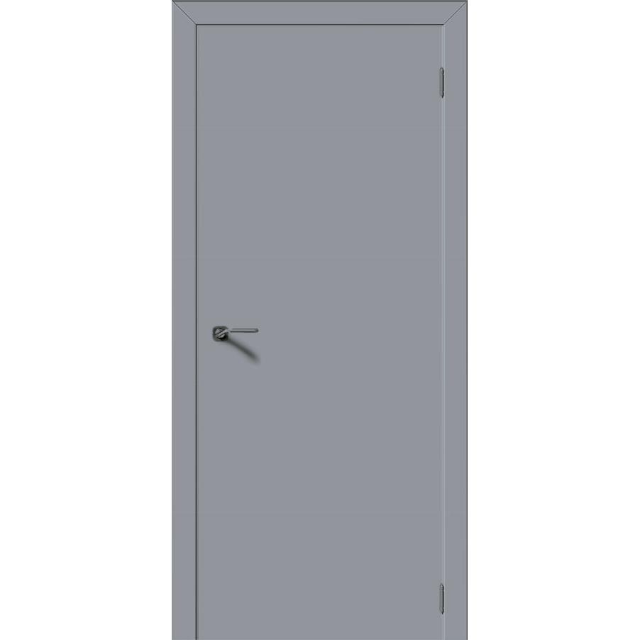 Блок дверной строительный ДПГ крашенный эмаль