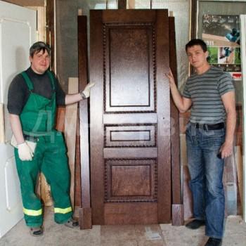 Эксклюзивная дверь под заказ готова