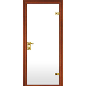 Матовая белая дверь