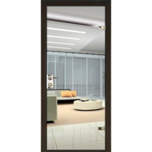 Зеркальная дверь «триплекс»