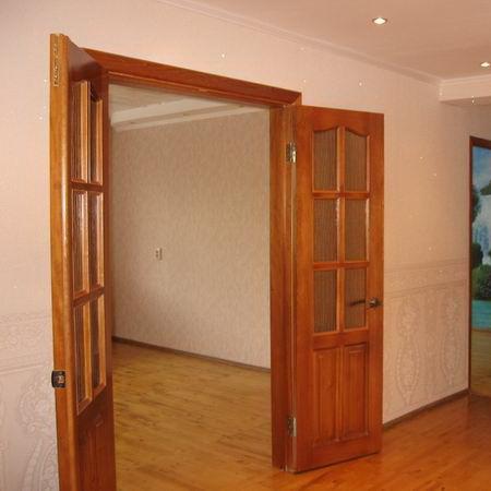 Как установить межкомнатные двойные двери