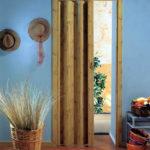 складная дверь гармошка в интерьере