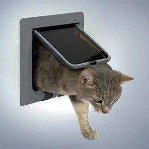 откидное окошко для кошки