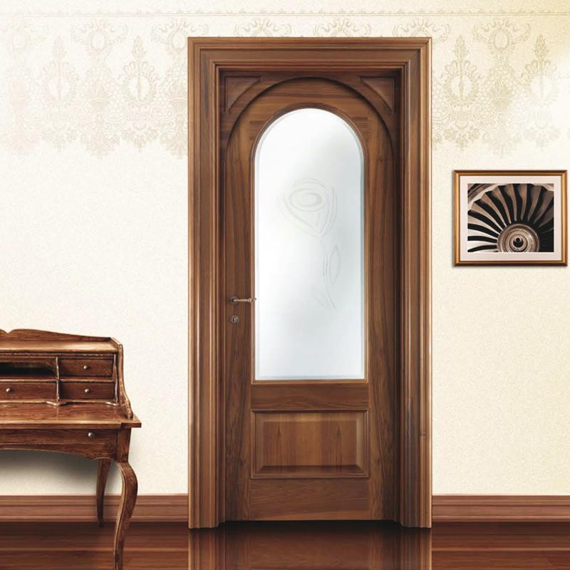 межкомнатная дверь фабрики зодчий со стеклом