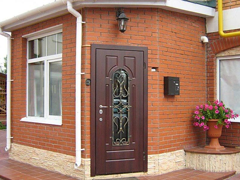 входная железная дверь клин