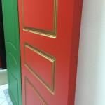 Межкомнатные крашенные двери премиум класса с эффектом патины