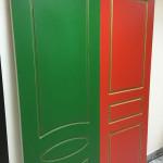 Двери межкомнатные крашенные в квартиру