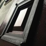 Вариант отделки двери